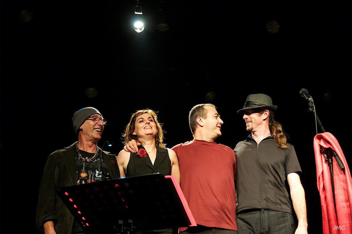 Avec Françoise Marza Quartet - Hommage Claude Nougaro
