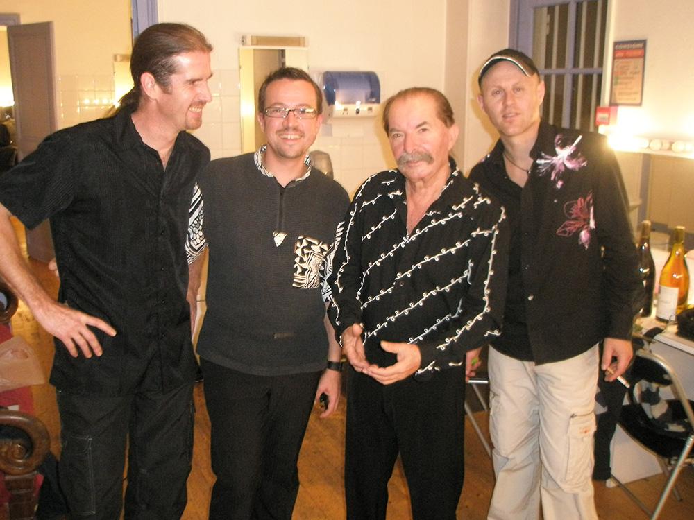 Avec Pierre VASSILIU, Franck ROZÉ, Eric HALTER