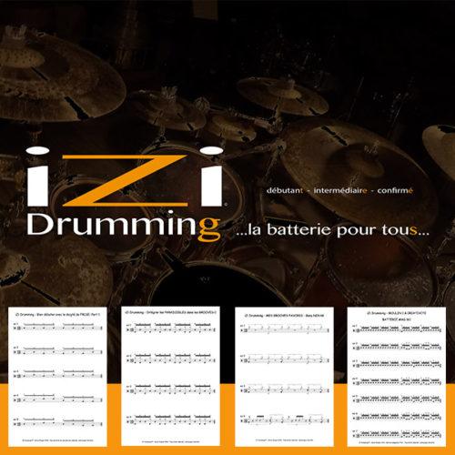Les partitions iZi Drumming gratuites !