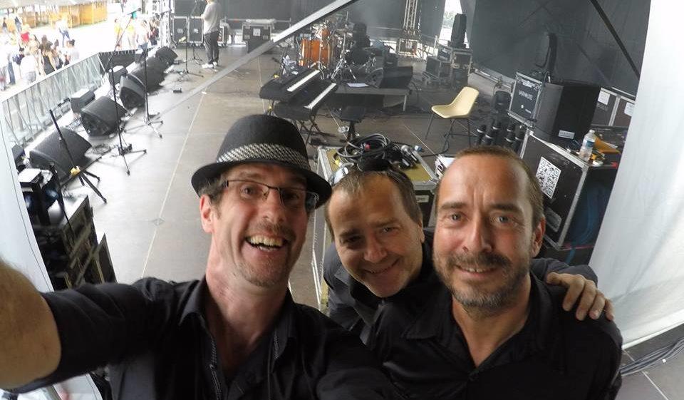 Avec Antoine Ona et Eric Payan