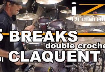 iZi Drumming – 5 BREAKS en double croche qui CLAQUENT !