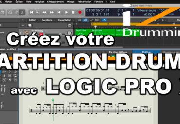 iZi Drumming – Créez votre partition Drums avec LOGIC Pro X
