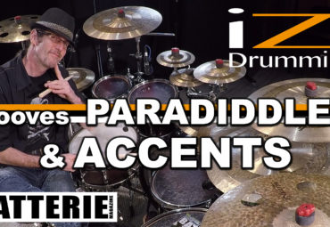IZI DRUMMING – GROOVES PARADIDDLE 1 & ACCENTS