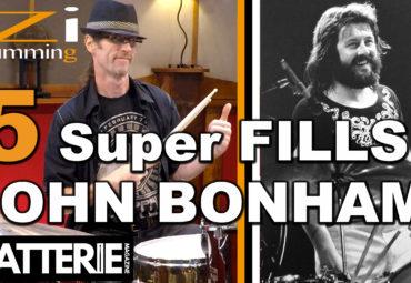 IZI DRUMMING – 5 SUPER BREAKS DE JOHN BONHAM
